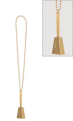 Gold Clacker Necklace