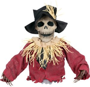 Light-Up Skeleton Scarecrow Ground Breaker