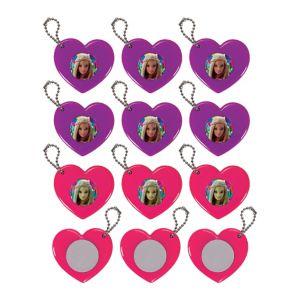 Barbie Heart Mirror Keychains 12ct