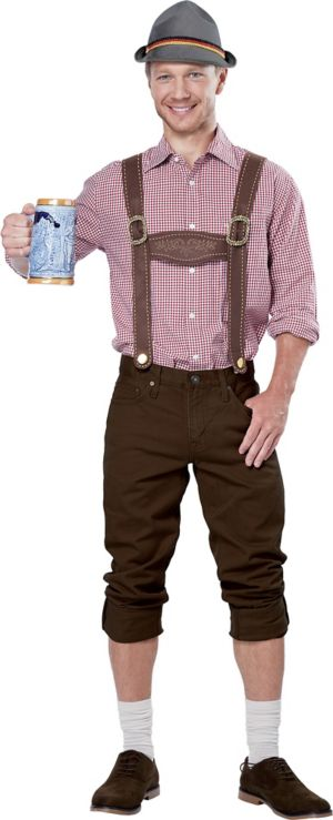 Lederhosen Costume Accessory Kit 2pc