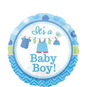 Boy Baby Shower Balloon - Shower with Love