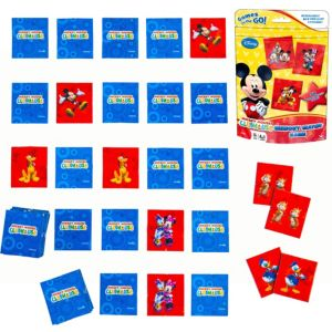 Mickey Mouse Memory Match Game Bag