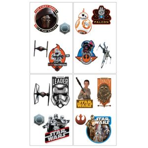 Star Wars 7 The Force Awakens Tattoos 1 Sheet