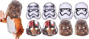 Star Wars 7 The Force Awakens Masks 8ct