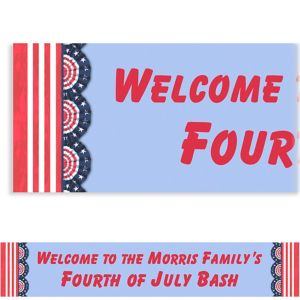 Custom American Pride Banner 6ft