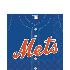 New York Mets Lunch Napkins 36ct