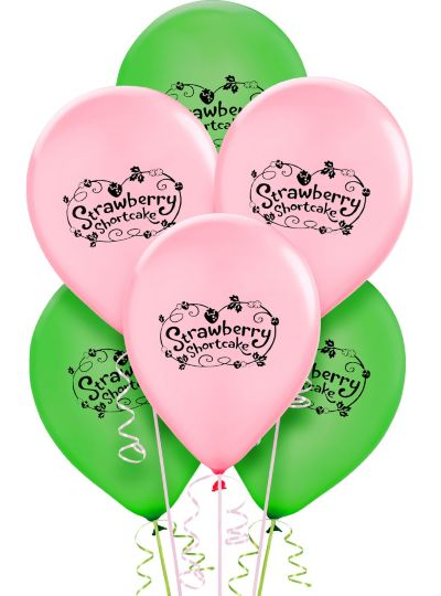 Strawberry Shortcake Balloons 6ct