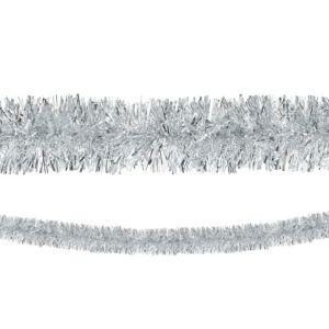 Silver Boa Tinsel Garland