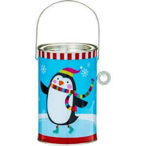 Penguin Paint Can Treat Bucket
