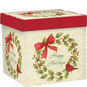 Christmas Cardinal Gift Box