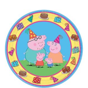Peppa Pig Dessert Plates 8ct