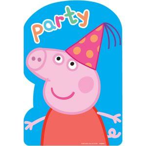 Peppa Pig Invitations 8ct