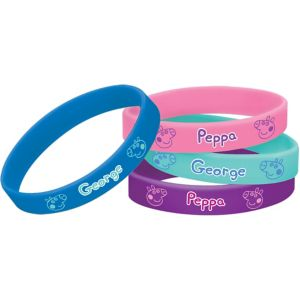 Peppa Pig Wristbands 4ct