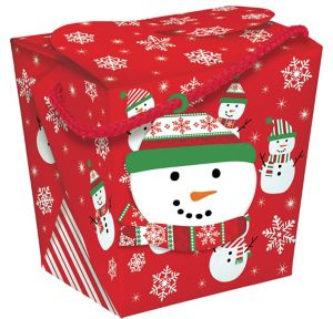 Giant Snowman Take-Out Box - Very Merry