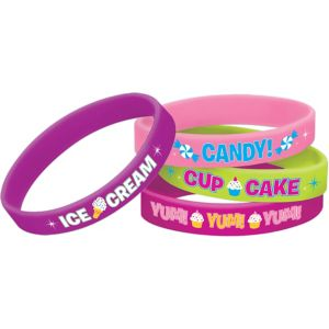 Candy Shoppe Wristbands 4ct