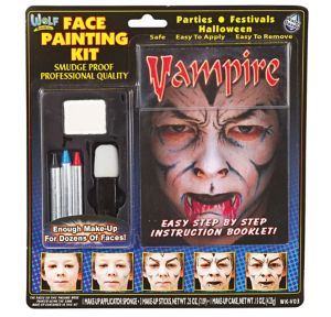 Vampire Face Painting Kit 6pc