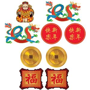 Chinese New Year Cutouts 9ct