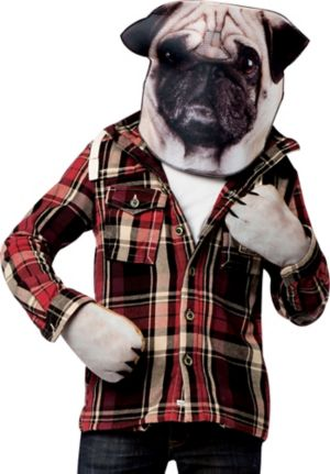 Pug Costume Accessory Kit 2pc