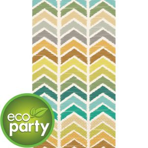Eco-Friendly Herringbone Guest Towels 16ct