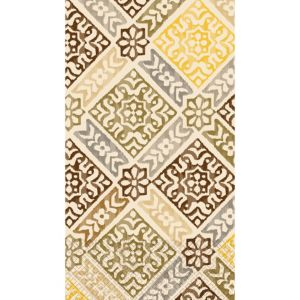 Gold Medallion Print Guest Towels 16ct