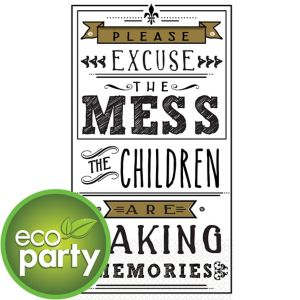 Eco-Friendly Memories Typography Guest Towels 16ct
