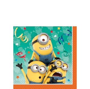 Despicable Me Beverage Napkins 16ct