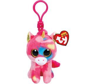 Clip-On Fantasia Beanie Boo Unicorn Plush