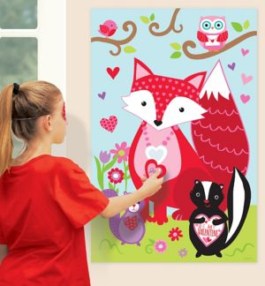 Woodland Friends Valentine's Day Party Game