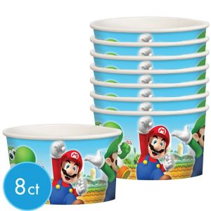 Super Mario Treat Cups 8ct