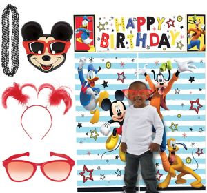 Mickey Mouse Photo Booth Kit