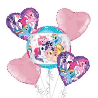 My Little Pony Balloon Bouquet 5pc - Orbz