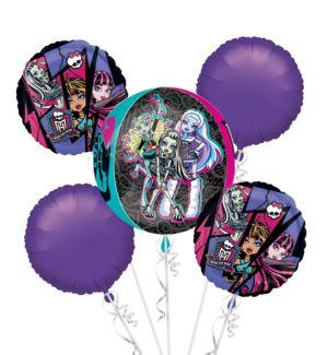 Monster High Balloon Bouquet 5pc - Orbz