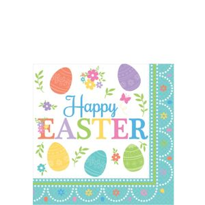 Egg-citing Easter Beverage Napkins 16ct