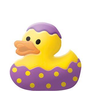 Purple Easter Egg Rubber Duck