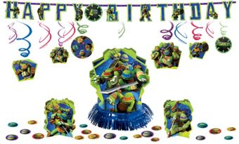 Teenage Mutant Ninja Turtles Decorating Kit