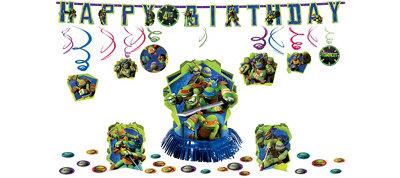 Teenage Mutant Ninja Turtles Party Decorations Kit