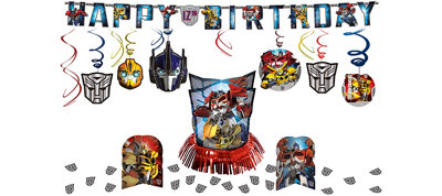 Transformers Party Decorations Kit