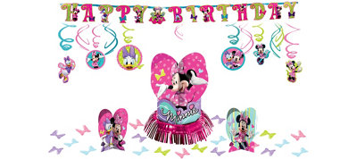 Minnie Mouse Party Decorations Kit