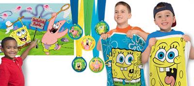 Spongebob Fun & Games Kit