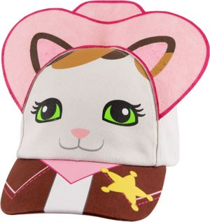 Child Sheriff Callie Cat Baseball Hat
