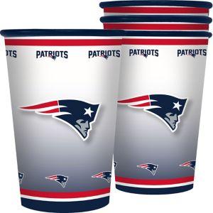 New England Patriots Tumblers 4ct