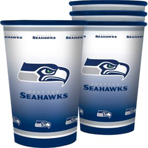 Seattle Seahawks Tumblers 4ct