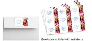 Custom Barbie Sparkle Sticker
