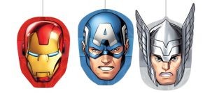 Avengers Honeycomb Balls 3ct