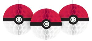 Pokemon Honeycomb Balls 3ct