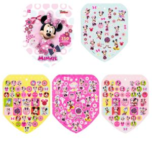 Jumbo Minnie Mouse Sticker Book 8 Sheets