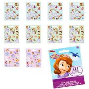 Sofia the First Sticker Book 9 Sheets