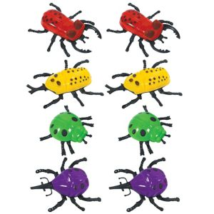 Wall Climber Bugs 8ct