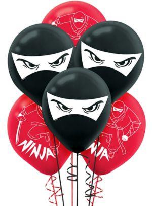 Ninja Balloons 6ct
