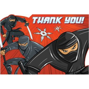 Ninja Thank You Notes 8ct